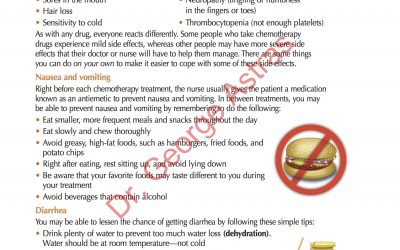 Coping with the  Side Effects of Chemotherapy